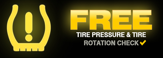 Tire Rotation Coupon and Tire Pressure Coupon Bakersfield CA